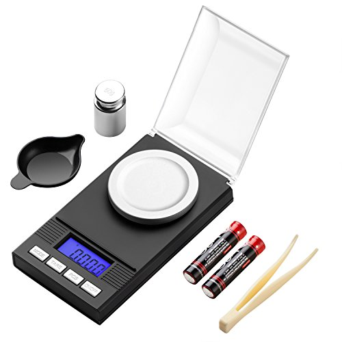 Zilink digital milligram pocket scale 50g pro for Perfect scale pro review