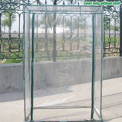Tomato Greenhouse Cover PE Garden Plant Protection Cover Flower Vegetable Tomato Growing Cultivation Tent with Entrance Door Zipper 30 x 20 x 60 Inch ... & Tomato Greenhouse Cover PE Garden Plant Protection Cover Flower Veget