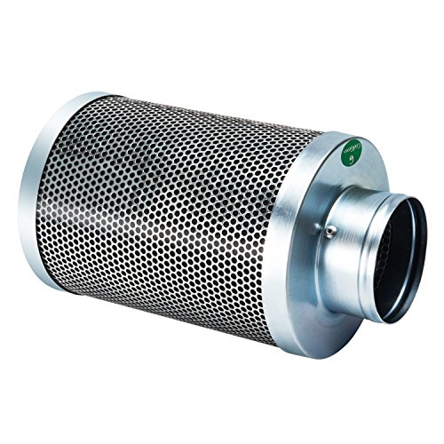 CoolGrows Carbon Filter with Reversible Flange activated Charcoal Air Filter Scrubber Odor Control Grow Tent Kit with Pre-filter for Indoor Plants  sc 1 st  Marijuana Home Growers.Com & CoolGrows Carbon Filter with Reversible Flange activated Charcoal Air